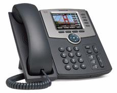 Cisco SPA525G2 5 Line Colour IP Phone-0